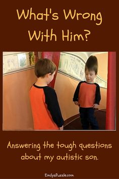 What's Wrong With Him - Answering the Tough Questions about my Autistic Son - Emily's Puzzle - emilyspuzzle.com