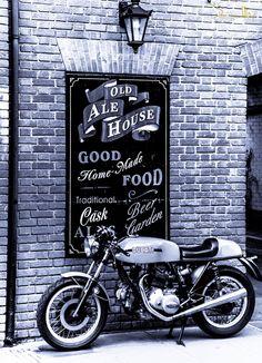 Ducati Cafe Racer #motorcycle #motorbike