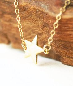 Hokuli'ili'i necklace - gold star necklace LOVE THIS, just like Sam's from Perks of being a wallflower