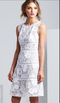 White Lace Dress by Moss and Spy SS 2016 Collection. #springracing #melbournecup