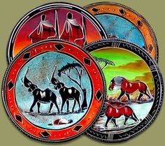 Soapstone Plates by KarangisCollections on Etsy, $120.00