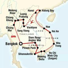 Rondreis Azië