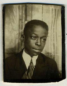 Miles Davis cuando era un párvulo!