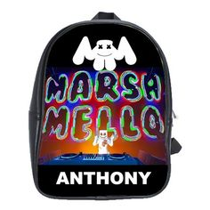 FORTNITE MARSHMELLO EVENT LEATHER XL BACKPACK Marshmello Alone, Dj Marshmello, Gifts For Kids, Great Gifts, Battle Royale, Game R, Cool Backpacks, One Pic, Music