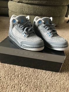 new arrival 38037 0803e Air Jordan Retro 3 (girls Size 6.5 womens Size 8)  fashion