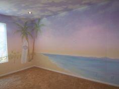Love the idea of a beach themed nursery