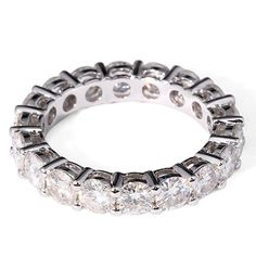 TransGems CTW F Color Lab Moissanite Diamond Eternity Wedding Band in Solid White Gold for Women Trendy Fashion Jewelry, Fashion Jewelry Necklaces, Women Jewelry, White Gold Wedding Rings, Wedding Rings For Women, Wedding Bands, Wedding Ring Pictures, Vintage Wedding Jewelry, Promise Rings For Her
