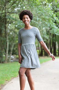 This cute little number is perfect for any occasion! It is easy to dress up and to make more casual
