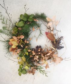 #autumn #fall #wreath #botanicals #floraldesign