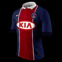 Photo : Maillots domicile et extérieur PSG 2012-2013 (KIA), idée #39 - LudovicPSG - Blog Football.fr