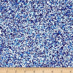 Urban Textures Mini Splatter Blue from @fabricdotcom  Designed by Linda Engstrom for Andover Fabrics, this fabric is perfect for quilting, apparel and home decor accents. Colors include aqua, blue and light blue.