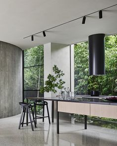 Twig House by Leeton Pointon Architects + Interiors, and Allison Pye Interiors Twig house was conceived as a sculpture – … Twig House, The Meaning Of Melding Architecture Read House Design, Minimalist Interior, Interior, Interior Design Kitchen, Luxury Interior Design, Interior Architect, Home Interior Design, Interior Design Awards, Residential Interior
