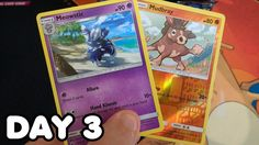 BOOSTER PACK EVERYDAY - Day 3 Opening Burning Shadows Booster Pack Daily Video, Shadows, Pokemon, Packing, Baseball Cards, Videos, Day, Youtube, Bag Packaging