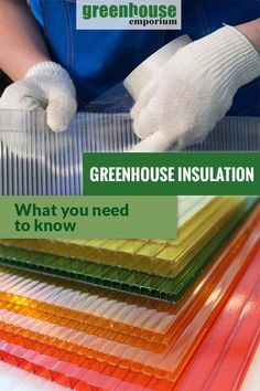 What You Need to Know about Greenhouse Insulation is part of Outdoor greenhouse - Insulation is one of the important features of every greenhouse kit and DIY greenhouse We tell you what you need to know to have a perfectly insulated greenhouse Diy Greenhouse Plans, Large Greenhouse, Outdoor Greenhouse, Aquaponics Greenhouse, Backyard Greenhouse, Greenhouse Growing, Aquaponics System, Greenhouse Wedding, Lean To Greenhouse Kits