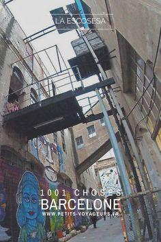 ALTERNATIF : dans le quartier de Poblenou à Barcelone, la Escocesa est une résidence d'artiste dédiée au street art et à la création contemporiane.