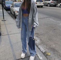 cute casual outfit uploaded by 𝐞𝐛𝐨𝐧𝐲 ♡ on We Heart It Aesthetic Fashion, Aesthetic Clothes, Look Fashion, Teen Fashion, Fashion Outfits, Makeup Aesthetic, Aesthetic Outfit, Summer Aesthetic, 2000s Fashion