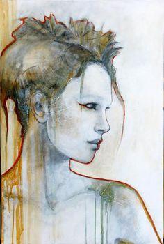 Joan Dumouchel - Jade - Contemporary Artist - Figurative Painting