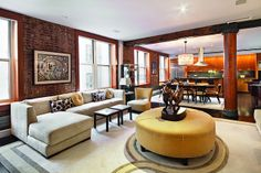Stunning Soho Loft  Soho, New York, Represented exclusively by Richard Orenstein. See more eye candy on this home at http://www.halstead.com/rental/ny/manhattan/soho/stunning-soho-loft/9837897.