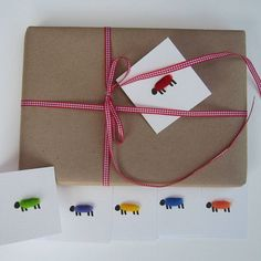 woolly sheep gift tags by penny lindop designs | notonthehighstreet.com
