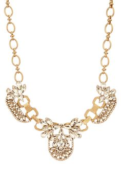Deco statement necklace