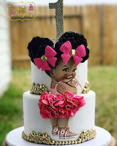 Super baby shower ides for girls themes princesses cake birthday parties 62 ideas Birthday Cake Girls, Baby Birthday, Birthday Parties, Birthday Cakes, Bolo Fack, Girl Baby Shower Decorations, Baby Shower Princess, Girl Cakes, Cute Cakes