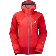 The Mountain Equipment Manaslu Women's Jacket is our premier women's GORE-TEX Pro hard shell for alpine mountaineering and winter climbing. Mountain Equipment, Gore Tex, Motorcycle Jacket, Hooded Jacket, Jackets For Women, Suits, Hiking, Fashion, Best Rain Jacket