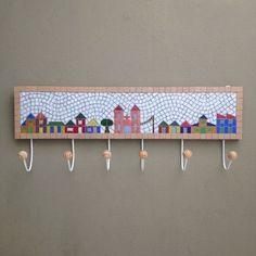 Cabideiro em mosaico Village