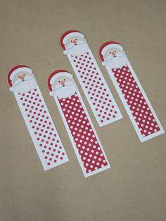Marcador de livro Natal Papai Noel