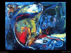 JORN ASGER pittore opere quadri *