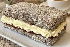 LAMINGTON CAKE Lamington Cake Recipe, Baking Recipes, Cake Recipes, Coconut Icing, Full Fat Milk, Cooking Measurements, Food Wishes, Chocolate Icing, Recipes