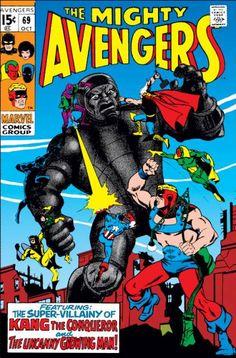 Avengers Cover: Kang Marvel Comics Poster - 30 x 46 cm Avengers Comics, The Avengers, Marvel Comic Books, Comic Book Characters, Marvel Characters, Marvel Heroes, Comic Character, Comic Books Art, Comic Art