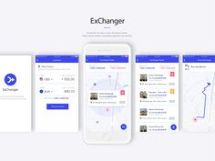 Currency Exchanger App - Free sketch resource for download #sketchhint #sketch #resource #app #freebie #free