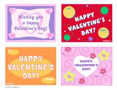 Printable Valentine's Day Cards for Kids | Spoonful