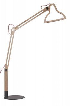 Zuiver Stehlampe LED-it-be, naturbraun, 32x81x165cm - lefliving.de