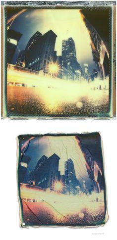 Tanja Deuss  Unique Polaroid Photo Series  Abheben  deuss  Polaroid   cityscape Polaroid ea09596d10ed