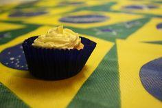 Cupcake de Chocolate Branco com Cobertura de Buttercream