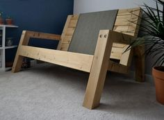 In suspension hammock Woodworking Projects Diy, Woodworking Furniture, Diy Wood Projects, Home Projects, Pallet Patio Furniture, Cool Furniture, Furniture Design, Hammock Frame, Side Tables Bedroom