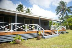 Temara Sunrise Rarotonga, three bedroom two bathroom family home for rent inland Muri at Rentraro