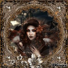 she floats with the fish/ gothic Gothic Pictures, Angel Images, Gothic Art, Beautiful Love, Photo Editor, Illusions, Animation, Fish, Artwork