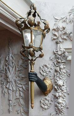 Cocteau lamp arm in the city of light (paris) Little Germany, Art Nouveau, Ornamental Mouldings, Street Lamp, City Lights, Street Lights, Architecture Details, Paris Architecture, Chandeliers