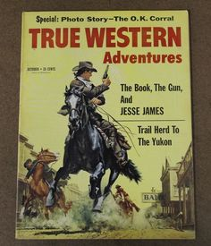 True Western Adventures 10 October 1959 Frank McCarthy Jesse James | eBay