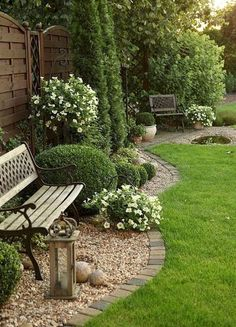 150 beautiful backyard and front yard landscaping ideas you must see decomg . 150 beautiful backyard and front yard landscaping ideas you must see decomg . Small Courtyard Gardens, Small Courtyards, Small Gardens, Outdoor Gardens, Courtyard Design, Zen Gardens, Front Yard Gardens, Courtyard Ideas, White Gardens