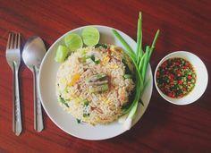 ข้าวผัดหมู #thaifood