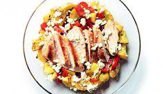 Ofengemüse mit Huhn und Feta und weitere Clean-Eating Rezepte