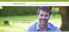 #sesamewebdesign #psds #dental #responsive #green #brown #topnav #top-nav #fullwidth #full-width #sans #flat #clean