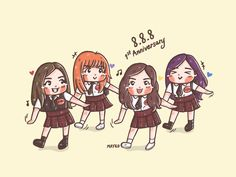 ‪[FA] Blackpink Anniversary ,,D-2 #Rose #Jennie #Lisa #Jisoo #BLACKPINK #블랙핑크 #ASIFITSYOURLAST #blackpinkfanart #Fanart #mayko‬