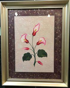 Gala Çiçeği Ebrusu