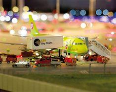 Miniature Airport Model