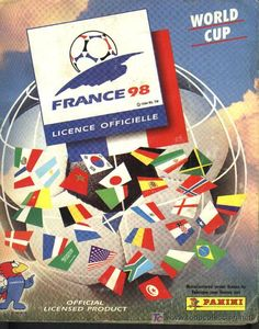 Panini World Cup Sticker Albums... France World Cup 1998