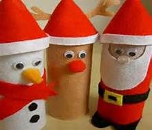 Toilet Paper Roll Christmas Crafts - Bing Images